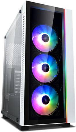 Корпус DeepCool Matrexx 55 V3 ADD-RGB WH 3F - зображення 1
