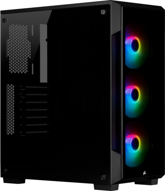 Корпус Corsair 220T RGB Black (CC-9011190-WW) - изображение 1