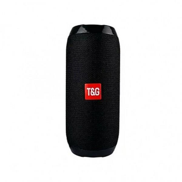 Портативная Bluetooth колонка TG117 Black влагостойкая - изображение 1