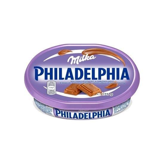 Сыр Philadelphia с шоколадом Милка 175 г - изображение 1