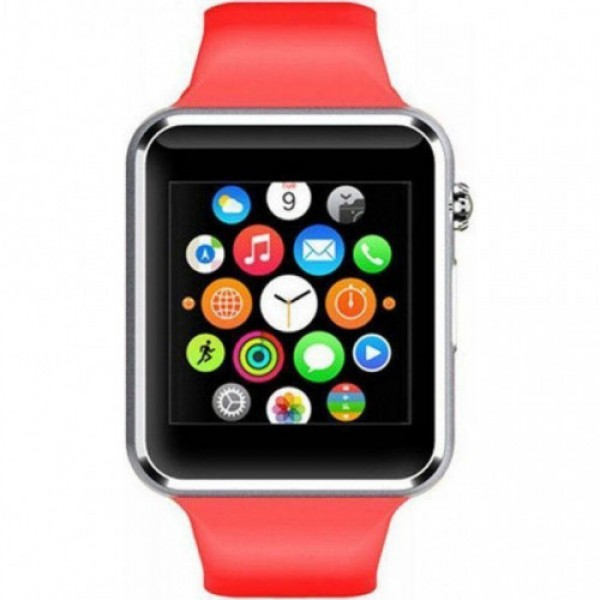 Розумні смарт-годинник Smart Watch A1 S+ Red (dm1714) - зображення 1