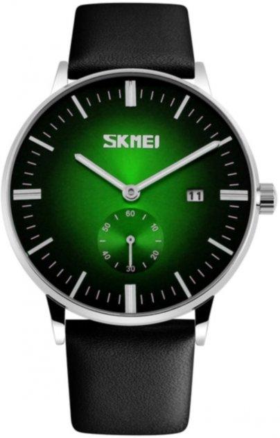 Чоловічий годинник Skmei 9083 BK-Green Dail BOX (9083BOXBKG) - зображення 1