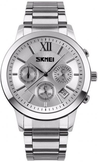 Чоловічий годинник Skmei 9097CS White BOX (9097CSBOXW) - зображення 1