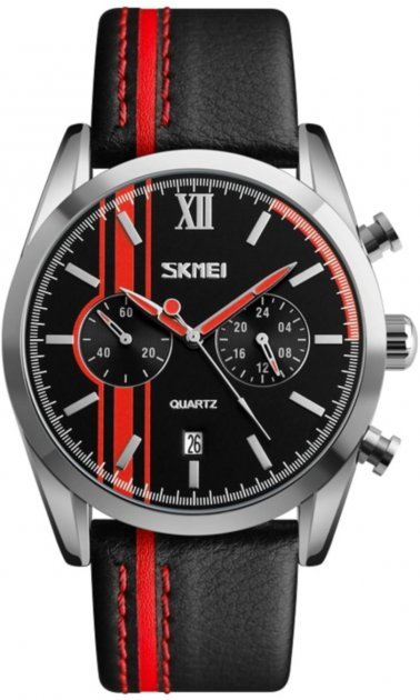 Мужские часы Skmei 9148 BK-Red BOX (9148BOXBKR) - изображение 1