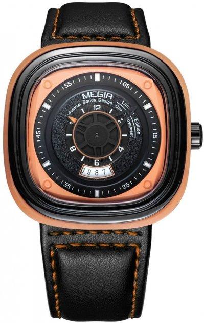 Мужские часы Megir Orange Black MG2027 (ML2027G-BKOE-1N11) - изображение 1