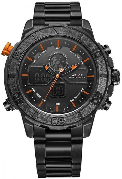 Мужские часы Weide Orange WH6108B-5C SS (WH6108B-5C) - изображение 1