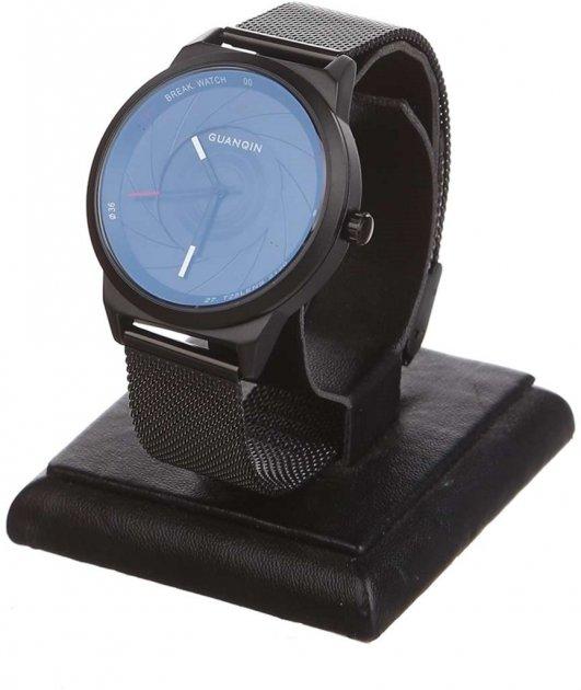 Чоловічий годинник Guanqin Black-Black-Black GS19074 CS (GS19074BBB) - зображення 1