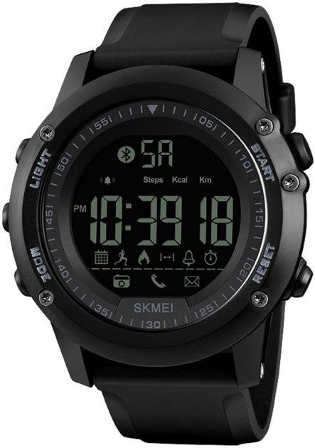 Мужские часы Skmei 1321 Black BOX (1321BOXBK) - изображение 1