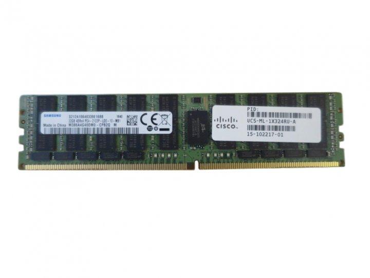 Оперативная память Cisco 32GB DDR4-2133MHz LRDIMM/PC4-17000 (UCS-ML-1X324RU-A) Refurbished - изображение 1