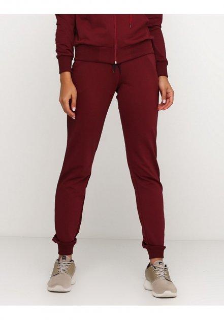 Женские спортивные штаны демисезонные 03710 Ballet Grace Бордовый, S - изображение 1