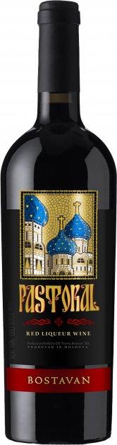 Вино Bostavan Кагор Пастораль червоне десертне 0.75 л 16% (4840472018082) - зображення 1