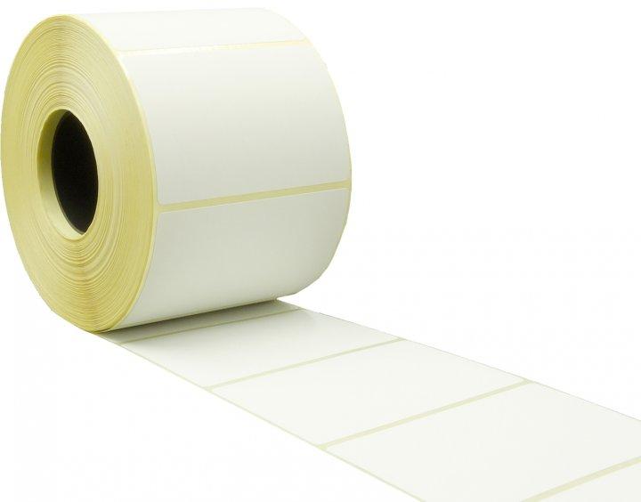 Термоэтикетка Tama Top 75 x 50 мм 1000 этикеток прямоугольная 4 шт Белая (4811)