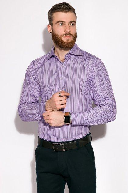 Рубашка классическая Time of Style 11P1250 41-42 Светло-сиреневый - изображение 1