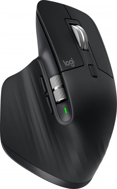 Миша Logitech MX Master 3 Advanced Wireless/Bluetooth Black (910-005710) - зображення 1