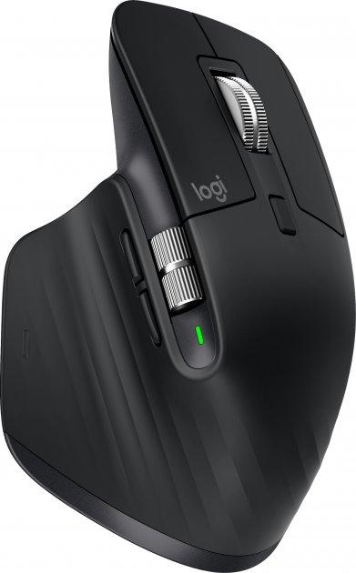Мышь Logitech MX Master 3 Advanced Wireless/Bluetooth Black (910-005710) - изображение 1