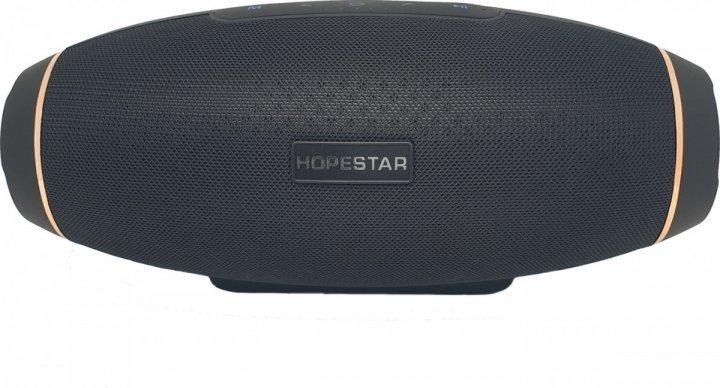 Портативная беспроводная Bluetooth колонка Hopestar H20 , Черный - изображение 1
