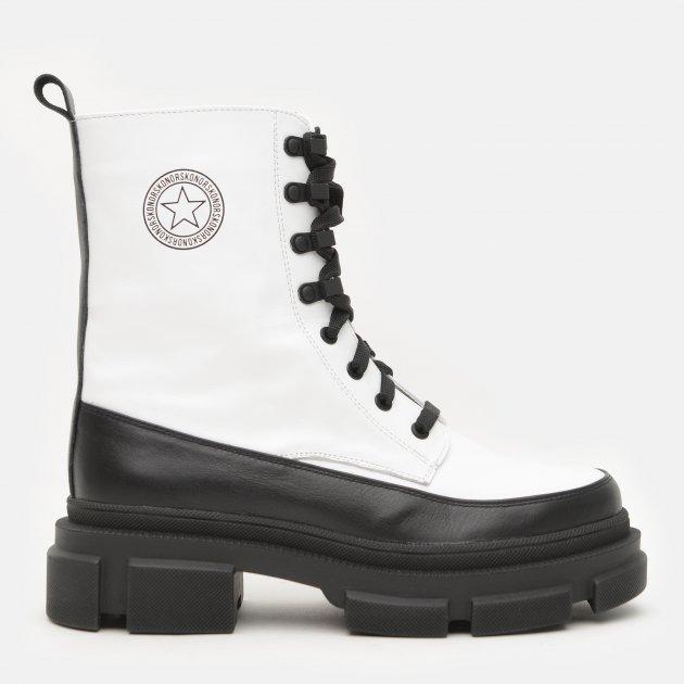 Ботинки Konors М 3685-1.25-1.19 39 25 см Белый/Черный (KN2000000489520)