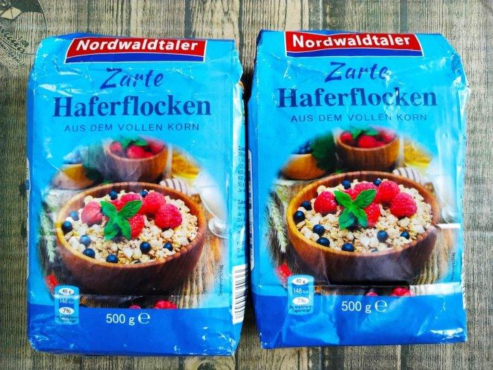Вівсяні пластівці Nordwaldtaler Zartе Haferflocken 500 g - изображение 1