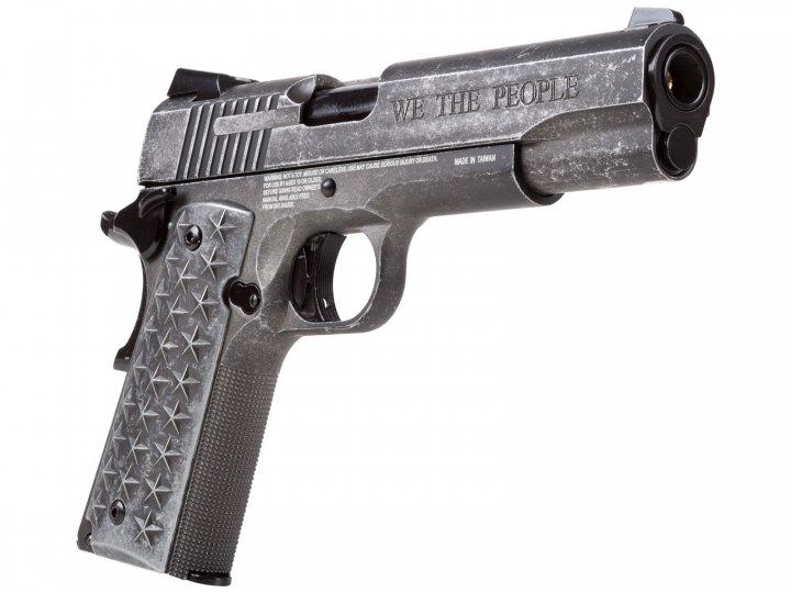 Пістолет пневматичний Sig Sauer Air 1911 We The People 4,5 мм (1625.01.53) - зображення 1