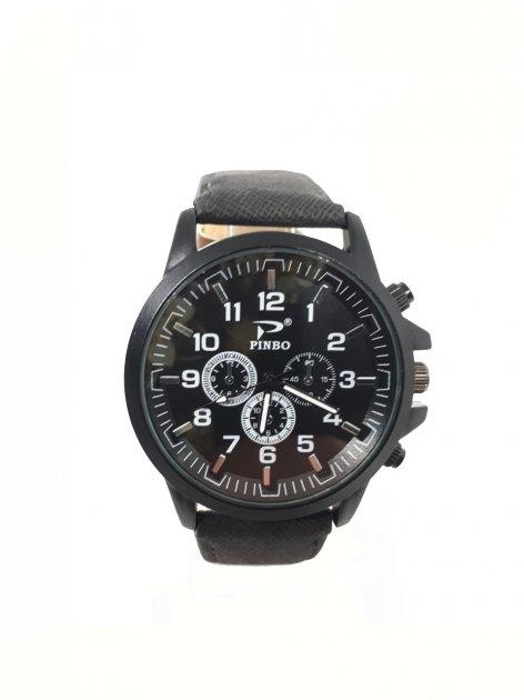 Мужские часы Pinbo Sport Черные (3088В) - изображение 1