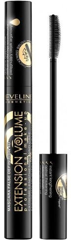 Тушь для ресниц Eveline Extension VolumeProfessional Make-u Экстремальная длина с аргановым масло 10 мл (5901761936988) - изображение 1