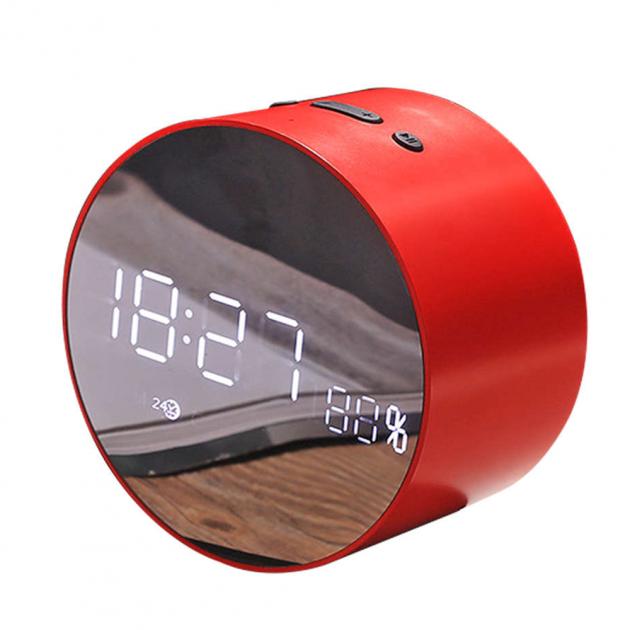 Aкустическая система с Bluetooth JoyRoom JM-R8 Alarm Clock Red (25057) - изображение 1