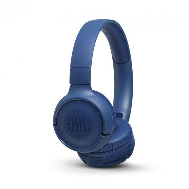Бездротові навушники JBL T500 BT Blue (JBLT500BTBLU) - зображення 1