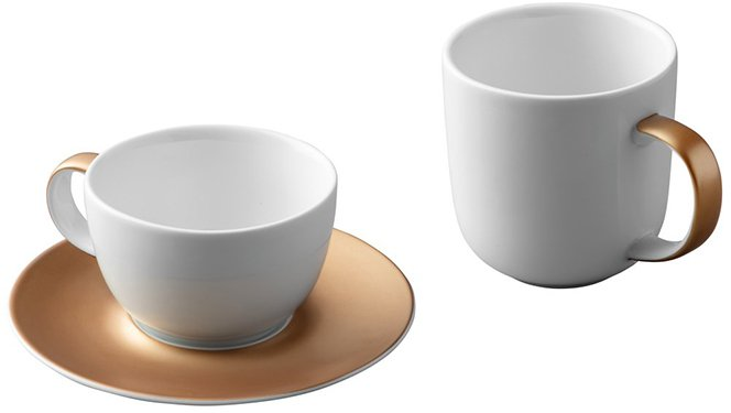 Набор для чая и кофе BergHOFF Ron Белый (1698005)