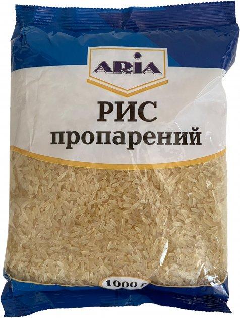 Рис Aria длиннозерный пропаренный 1 кг (4820204760076) - изображение 1