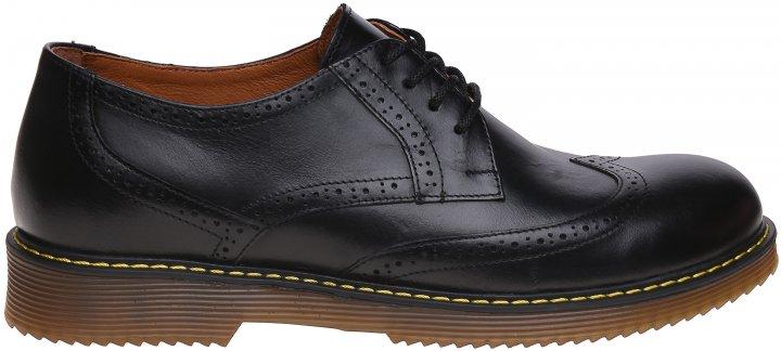 Броги Prime Shoes 11-579-10120 42 (28 см) Черные (2000000157214) - изображение 1