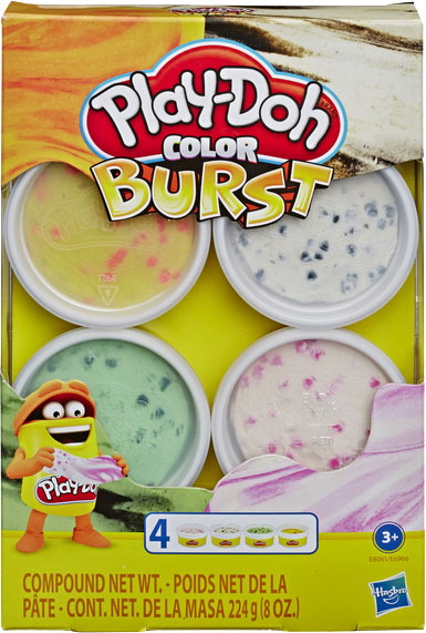 Игровой набор Hasbro Play-Doh Взрыв цвета Пастельные цвета (E6966_E8061) (5010993618767) - изображение 1