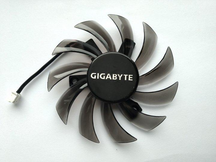 Вентилятор Everflow для видеокарты Gigabyte T128010SM (FS1280-S2135A T128010SL) (№75) - изображение 1
