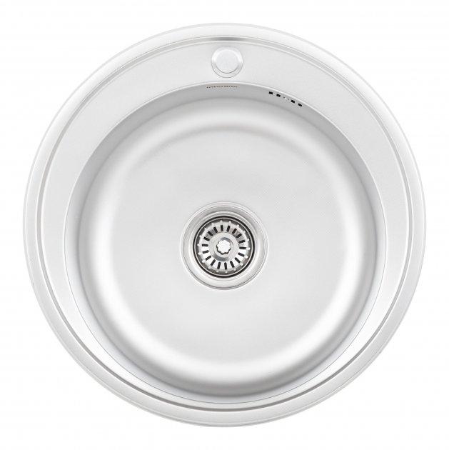 Кухонна мийка INTERLINE Rondo мікродекор - зображення 1