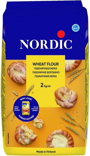 Пшеничная мука NordiC 2 кг (6416597831004) - изображение 1