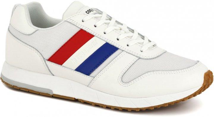 Кроссовки Le Coq Sportif Jazy Classic Flag 2010151-LCS 40 25.5 см Белые (3606803984287) - изображение 1