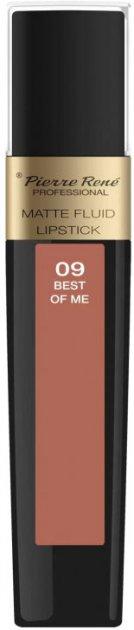 Помада Pierre Rene рідка Matte Fluid 09 Best Of Me 6 мл (3700467841839) - зображення 1