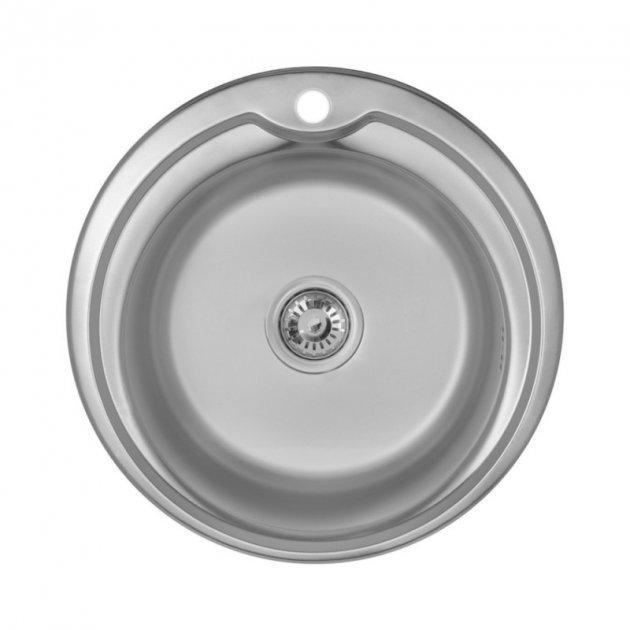 Кухонна мийка Imperial 510-D Satin (IMP510DSAT) - зображення 1