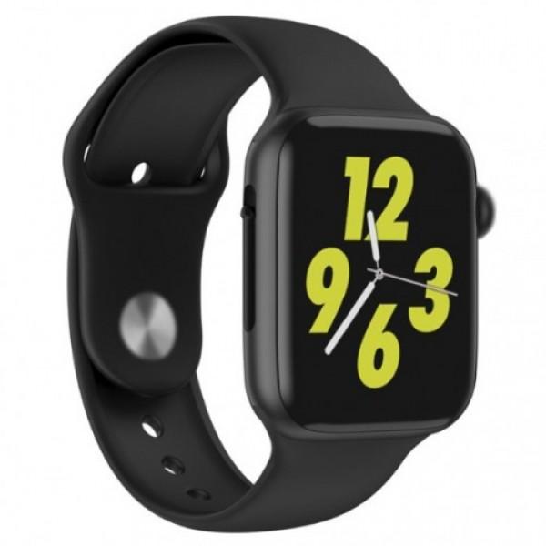 Наручний годинник Smart спортивні KSP Smart W34 датчик пульсу Bluetooth гарнітура Pro (dm453) - зображення 1