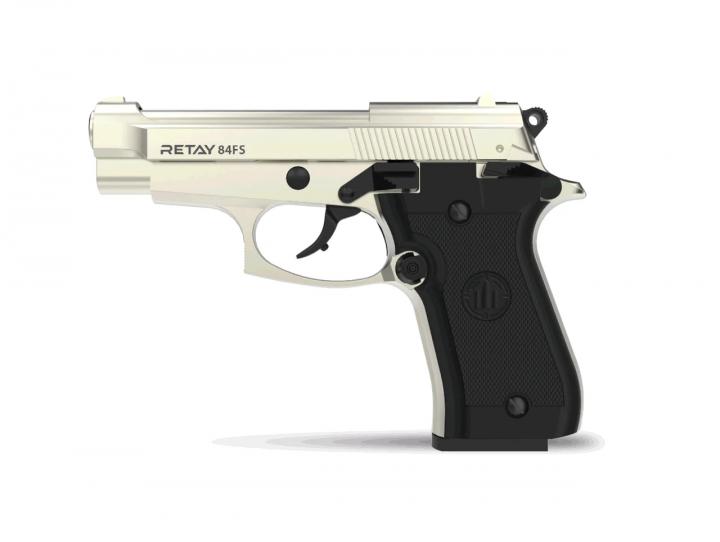 Пістолет стартовий Retay 84FS satin - зображення 1