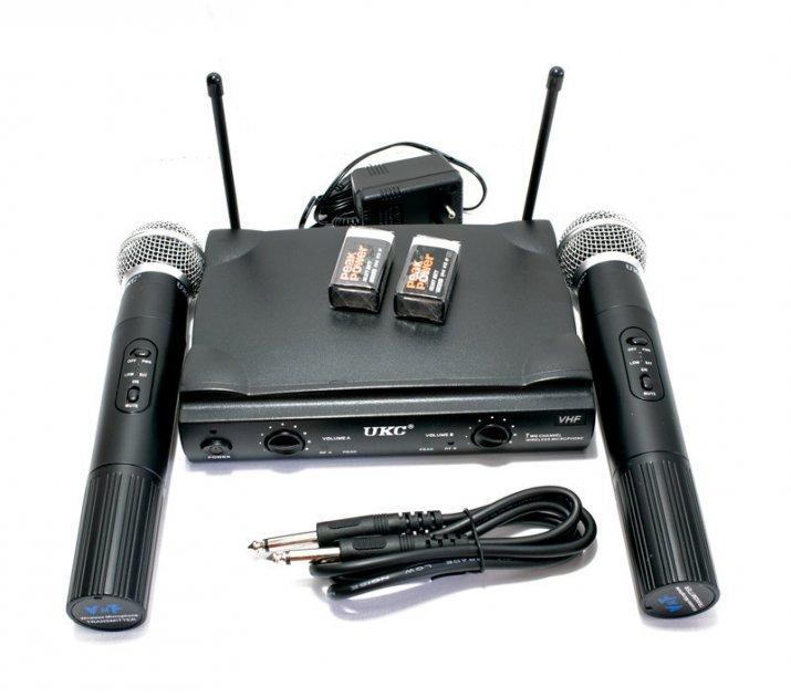 Караоке оборудование (приставка) для дома UKC UT24/SM58II отличная система караоке - караоке домой (1003057-Black-1) - изображение 1