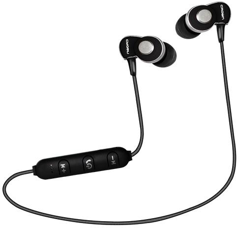 Наушники Crown CMBE-502 Bluetooth Black - изображение 1