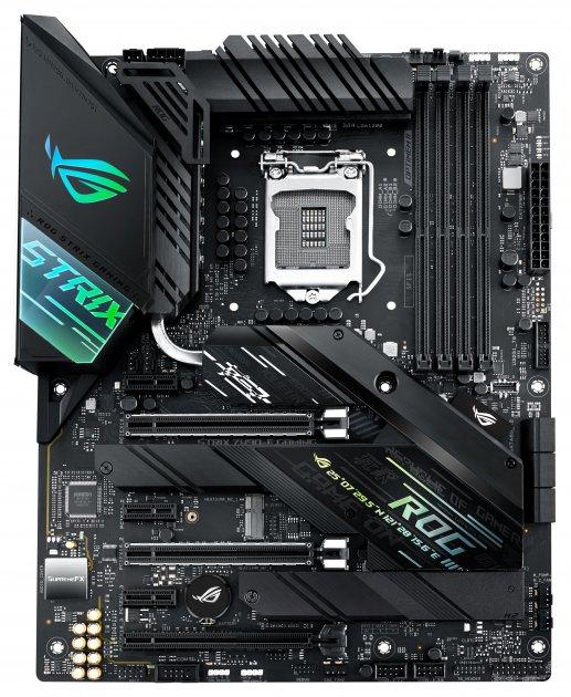 Материнская плата Asus ROG Strix Z490-F Gaming (s1200, Intel Z490, PCI-Ex16) - изображение 1