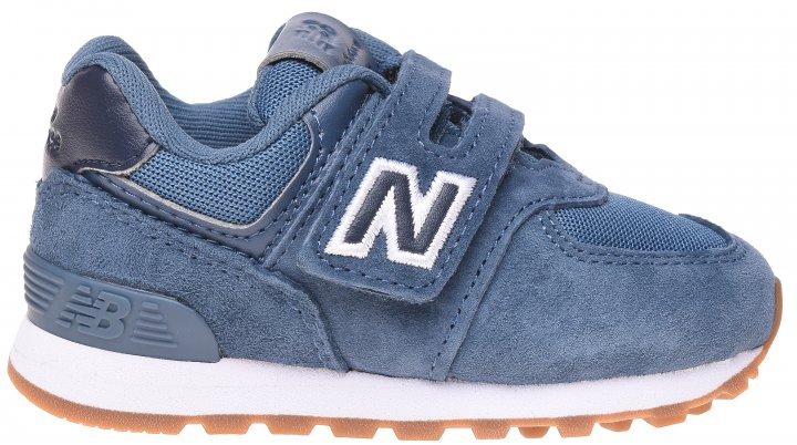 Кроссовки кожаные New Balance 574 IV574PRN 20.5 (5.5) 12 см Синие (194182269550) - изображение 1