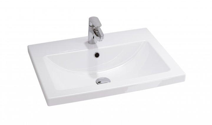 Меблева раковина CERSANIT Como 610 х 490 mm White (CCWF1000803618) - изображение 1