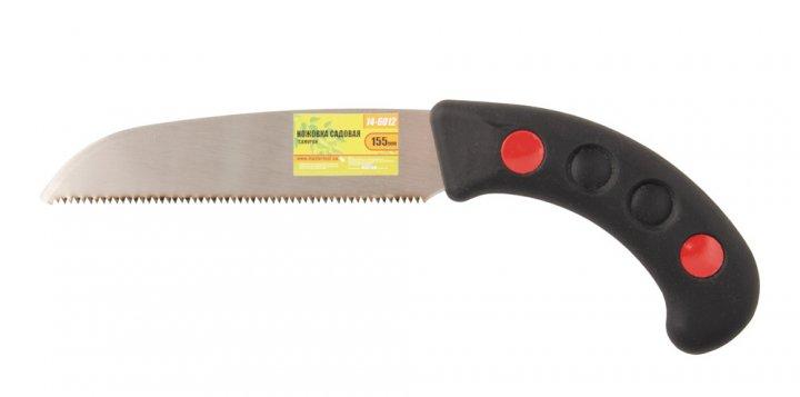 """Ножовка садовая Mastertool """"Самурай"""" 170 мм 9TPI каленый зуб 3-D заточка - изображение 1"""