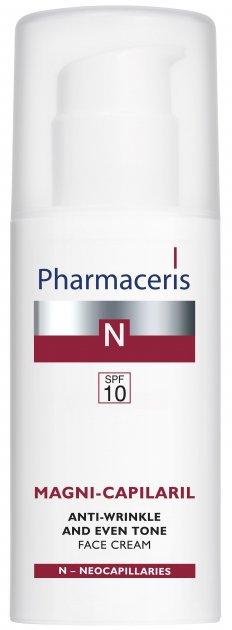 Активный крем против морщин для лица Pharmaceris N Magni-Capilaril SPF10 50 мл (5900717152519) - изображение 1