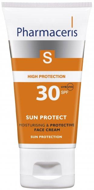 Увлажняющий солнцезащитный крем для лица Pharmaceris S Sun Protect SPF30 50 мл (5900717149014) - изображение 1