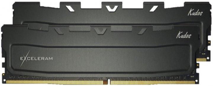 Оперативна пам'ять Exceleram DDR4-3000 16384MB PC4-24000 (Kit of 2x8192) Black Kudos (EKBLACK4163018AD) - зображення 1