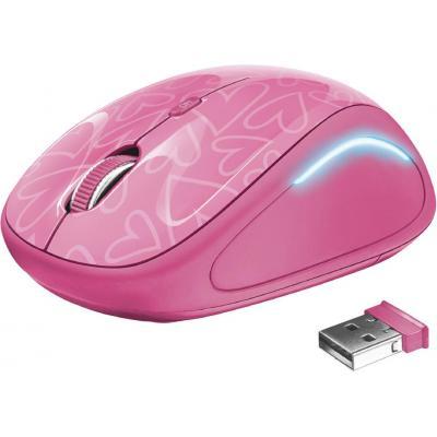 Мышка Trust Yvi FX pink (22336) - изображение 1