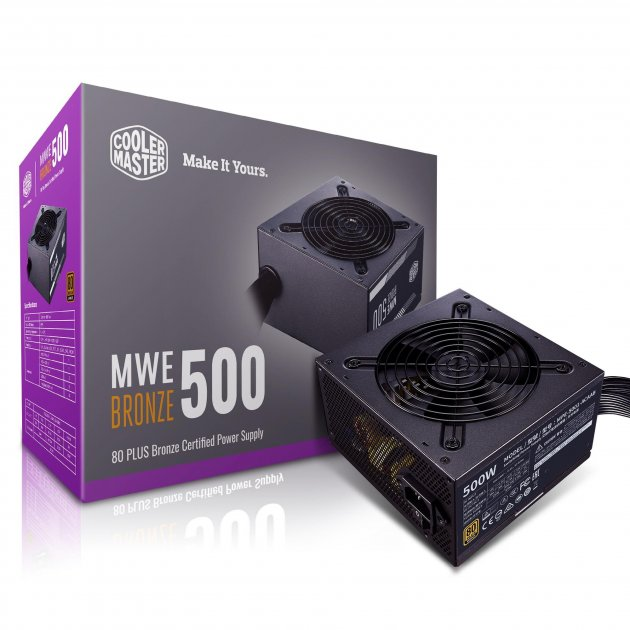 Блок живлення CoolerMaster MWE 500 Bronze V2 500W (MPE-5001-ACAAB-EU) - зображення 1
